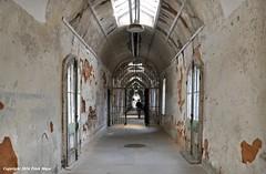 Cell Block 10 (Trish Mayo) Tags: prison easternstatepenitentiary penitentiary noncoloursincolour thebestofday gnneniyisi cellblock10
