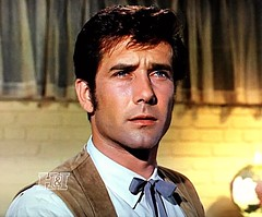 "Robert Fuller in ""Wagon Train"" (stalnakerjack) Tags: actors tv hollywood westerns wagontrain robertfuller tvwesterns"
