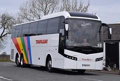 PO15KTC  The Travellers Choice, Carnforth (highlandreiver) Tags: bus green scotland volvo coach travellers scottish lancashire gretna choice coaches jonckheere the carnforth ktc po15 po15ktc