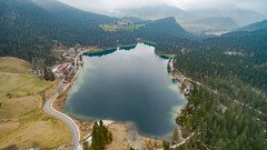 Alpensee Hintersee (dronepicr) Tags: travel lake 3 germany de landscape geotagged bayern deutschland bavaria photography see berchtesgaden nationalpark amazing reisen awesome natur aerial national sight phantom uav landschaft parc aerialphotography luftbild nationalparc hintersee drone knigssee sehenswrdigkeit allgemein phantom3 dji alpensee drohne lnderstdte ramsaubeiberchtesgaden