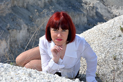 DCS_0005 (dmitriy1968) Tags: portrait cliff nature girl beautiful erotic outdoor wife quarry    sexsual