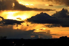 R.Kelly2430a (dobienet) Tags: sunset clouds scotland