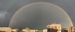 Double Rainbow (The Kerbal Way) Tags: city rain arcoiris lluvia rainbow ciudad double avila doble d3100