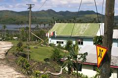 _MG_4994 (Rickard Nilsson) Tags: travel sea nature sign fiji island village power pacific south streetsign vitilevu powerlines cyclone archipelago pacificisland pacificislands viti