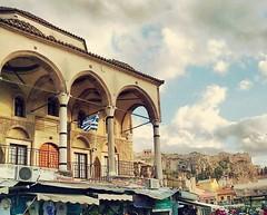 Monastiraki #athens #atenas #historiaencadametrocuadrado (quicios) Tags: athens atenas historiaencadametrocuadrado