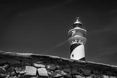 Favaritx (Miguel A. Garc) Tags: blackandwhite bw lighthouse blancoynegro faro nikon bn menorca baleares balearicislands balears illesbalears islasbaleares nikond600 farodefavaritx