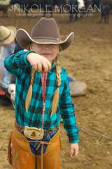 "The ""Nut"" Hauler (wild out west) Tags: ranch girls handy turquoise nuts balls blonde braids rough cowgirls cowboyhat tough hardwork blon chaps branding beltbuckle littlegirls toughie chinks shesahand"