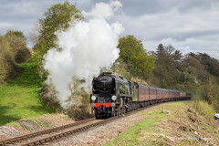 IMG_8899-1 (Nimbus20) Tags: england sky colour sunshine train landscape countryside track shropshire cloudy rail photographic steam worcestershire charter severnvalley severnvalleyrailway bulleid tawvalley 34027westcountry