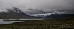 Heavy clouds (P. Burtu) Tags: wild summer mountain berg clouds river peace hiking wilderness frid sommar norrland landskap moln flod kungsleden vildmark vandra