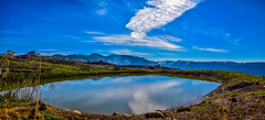 Laklouk Lake, Lebanon (Paul Saad (( ON/OFF ))) Tags: blue sky lebanon lake mountains water clouds pano panoramic hdr jbeil qartaba laklouk kartaba