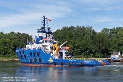 FAIRPLAY-33 (9476006) (010-06.08.2015) (HWDKI) Tags: ship vessel tug schiff kiel nordostseekanal imo nok landwehr schlepper kielcanal delfs fairplay33 hanswilhelmdelfs 9476006