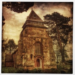 Day 120 of 366 - Church of St Mary Magdalene! (editsbyjon) Tags: texture church outdoor serene coventry iphone listedbuilding altphoto mmwc photoborder iphone365 iphoneography kitcam snapseed mextures distressedfx