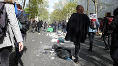 After the first wave #1 (frenzy) Tags: paris nations manifestations 28mars nuitdebout