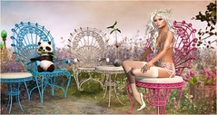 Seedling (Duchess Flux) Tags: garden cosmopolitan panda sl fantasy secondlife sway uber zenith blacklace epiphany essences fawny purepoison analogdog fantasyfaire catwa white~widow vitasboudoir collabor88 ieqed artisanfantasy shinyshabby