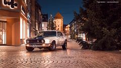 Stang (Dejan Marinkovic Photography) Tags: city white classic ford 1969 car afternoon automotive pony mustang coupe villingen