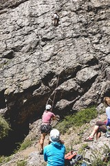 Cajn del Maipo - Valles las Arenas (5) (lxrdrg) Tags: climbing montaa escalada cajondelmaipo escaladadeportiva vallelasarenas pareddejabba pareddejabbah