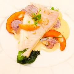 TURBOT (VINCENT MOYASHI) Tags: fish restaurant yummy turbot gaultmillau