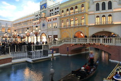 Litlle Venice (A Sutanto) Tags: bridge venice usa building hotel boat canal nevada indoor casino gondola venetian inside lalasvegas