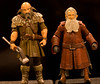 Dwalin & Balin (atari_warlord) Tags: actionfigure dwarves thehobbit balin 375 dwalin thebridgedirect