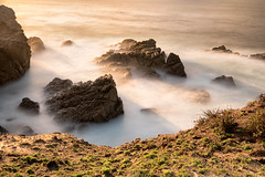 Sunlight on the Rocks (Ron Rothbart) Tags: california longexposure sunlight water rocks nd ptlobos pointlobos neutraldensityfilter 10stopfilter