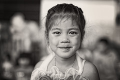 Young Thai Girl (siebe ) Tags: school portrait people girl kids thailand child young thai festivity portret kindergarden 2016 childrensday