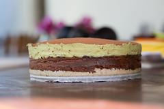 RAW avocado, lime and cacao pie