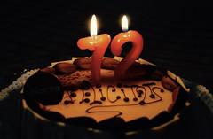 Birthday celebration Cake (heraldeixample) Tags: barcelona espaa de spain bcn catalonia catalunya catalua catalogna espanya catalogne birthday celebration celebracin cumpleaos albertdelahoz heraldeixample celebraci deaniversari