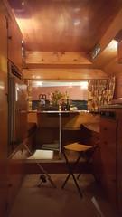 Inside Rocinante, Steinbeck's truck-top camper