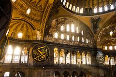 Dusk Falls on the Hagia Sofia (Nomadic Photographer) Tags: church architecture turkey sofia istanbul mosque wanderlust sunrays hagiasofia hagia
