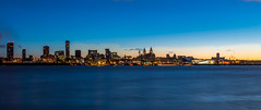 Liverpool At Dawn (ohare.ashley) Tags: city uk light 6 skyline liverpool nikon natural hdr wirral lightroom 18140 d3200