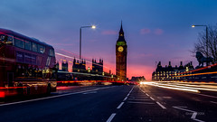 HC9Q1747-1-2 (rodwey2004) Tags: longexposure london landscape bigben landmark lighttrails westminsterbridge nighttrails