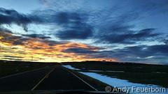 January 19, 2016 - A beautiful sunset as seen near Kiowa. (Andy Feuerborn)