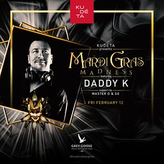 02-12-16 KU DE TA Bangkok Presents Mardi Gras Madness with DJ Daddy K (clubbingthailand) Tags: k club daddy thailand dj bangkok thai nightlife kudeta httpclubbingthailandcom