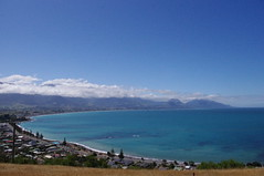 Picton To Kaikoura, New Zealand (ARNAUD_Z_VOYAGE) Tags: ocean street new city mountain building art beach nature architecture landscape island state pacific action south country capital north zealand te region department southwestern municipality waipounamu ikaamui
