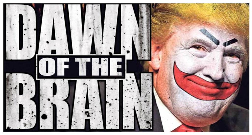 Trump as The Joker (Bill 2.6 Million views) Tags: fun joker trump drudge