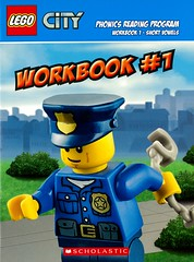 Workbook #1 (Vernon Barford School Library) Tags: new city b fiction toy toys reading book high lego reader library libraries reads books sean read paperback cover lee short junior novel covers bookcover wang middle kenny vernon recent bookcovers paperbacks novels fictional workbook readers vowels kiernan quinlan phonics barford vowel pronunciation englishlanguage workbooks softcover readingprogram legocity learningtoread seanwang vernonbarford softcovers beginningreaders beginningreading quinlanblee shortvowels learningreaders kennykiernan 9780545813631 9780545813495