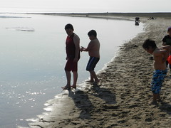 Going swimming at Long Point August 2015 33 (cambridgebayweather) Tags: swimming nunavut cambridgebay arcticocean