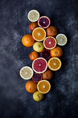 Mixed Citrus (onegirlinthekitchen) Tags: pink winter color vertical breakfast canon 50mm vegan lemon raw farmersmarket juice nopeople fresh vegetarian grapefruit produce citrus oranges chiaroscuro vitamins bloodorange foodphotography squeezing foodstyling valenciaorange veganlife karakaraorange