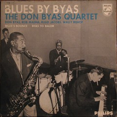 DON BYAS Quartet (streamer020nl) Tags: jazz philips record jacobs sleeve ep quartet katan kwartet madna donbyas wallybishop bluesbybyas