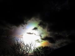 clouds nacreous solar halo storm Henry (angelagarrod) Tags: sky clouds canon photography opticaleffects solarhalo stormhenry outdoornacreous