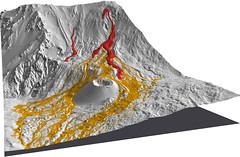 Rilievo laser scanning della topografia sommitale dell'Etna (ingv.pisa) Tags: etna topografia laserscanning colatalavica modelloprobabilistico
