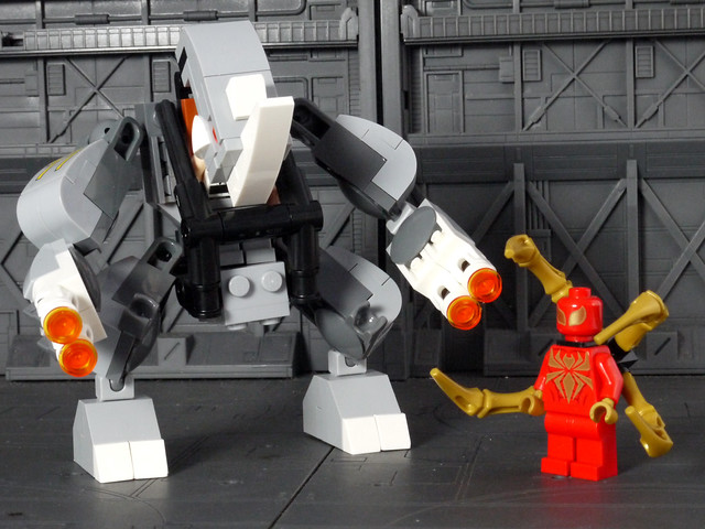 76037 Rhino and Sandman Super Villain Team-up