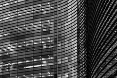 Curved Lines (AP Imagery) Tags: blackandwhite bw monochrome lines hospital details curves owensboro arhchitecture medicalhealthsystem