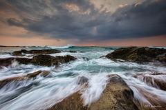 minami-boso wave rock Long exposure (koshichiba) Tags: blue light sunset sea orange seascape nature rock japan canon landscape eos long exposure magic tide wave explore shore lee  boso  onjuku   ndfilter f4l   bouso onjyuku  5dsr ef1124mm