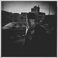 Untitled (mohsen_ch) Tags: street blackandwhite bw square iran streetphotography squareformat tehran iphone iphoneography hipstamatic instagramapp uploaded:by=instagram