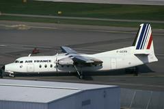 F-GCPX (Air France - TAT) (Steelhead 2010) Tags: tat fairchild airfrance zrh freg fairchildhiller fh227 fgcpx