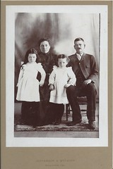 unknown family. (timp37) Tags: california family white black kids antique picture cal photograph unknown jefferson hollister wyckoff