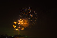 Fireworks-Kuwait Towers (Cajie) Tags: nikon fireworks towers kuwait d800