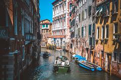 The Window Boxes of Venice [Explore: Nov 27, 2015 #76] (fgazioli) Tags: travel venice italy window colors veneza boat europe italia outdoor euro explorer explore eurotrip venezia bestplacestogo