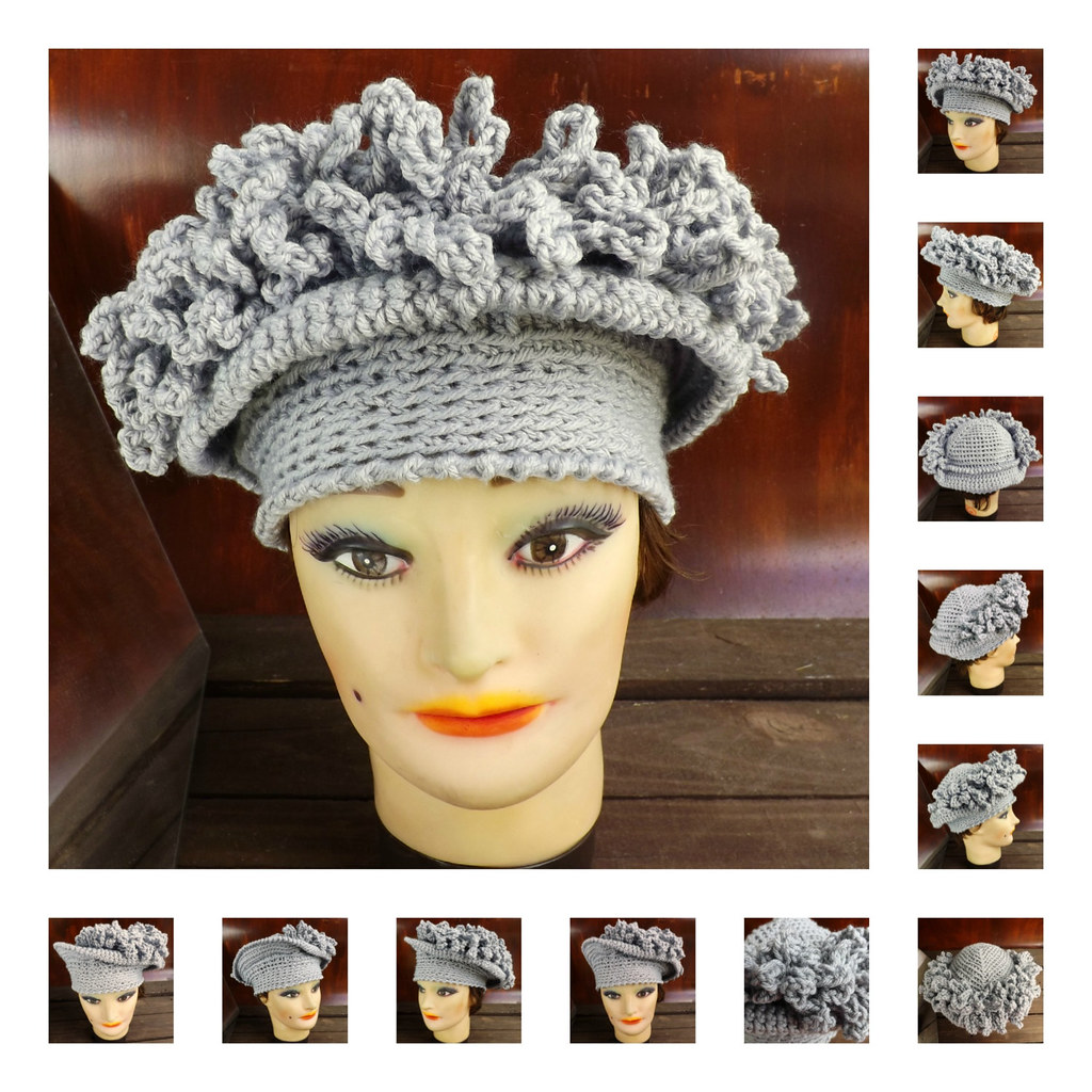The worlds newest photos of brimmed flickr hive mind crochet pattern womens crochet hat pattern womens hat crochet cloche hat with fringe bankloansurffo Gallery